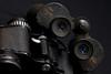 Old buddies, binoculars