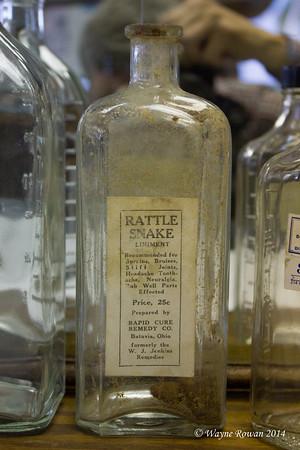 Rattlesnake Liniment Bottle