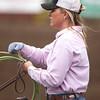 Cowgirl roper