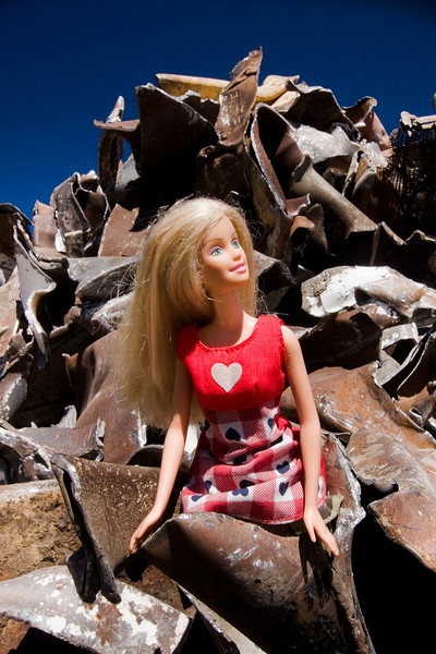 Barbie in Metal