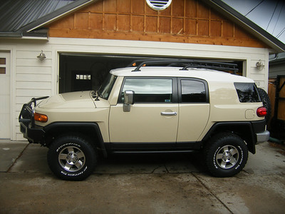 Melinda's (now Chris') Modified FJ