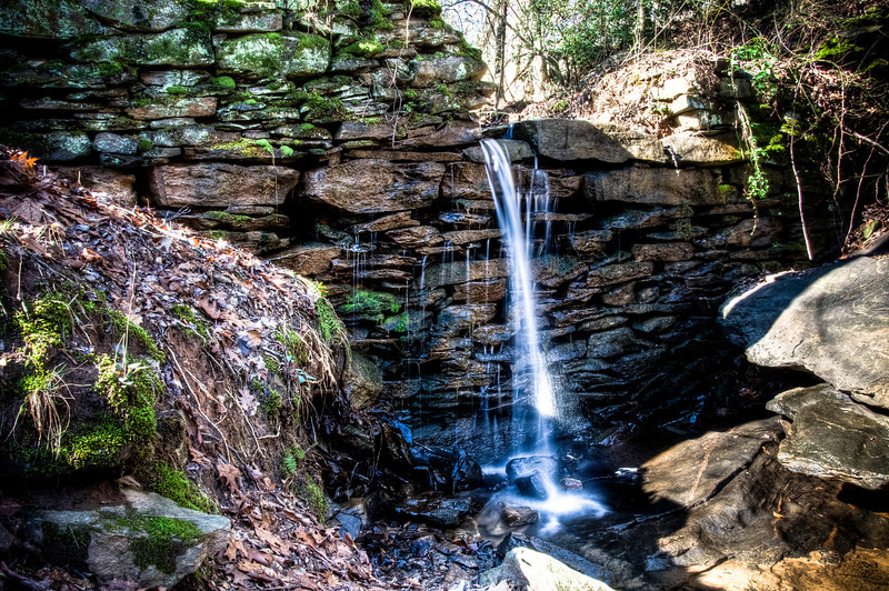 """<h3 style=""""text-align: left;""""><strong>Today's Photo: The Cool Falls</strong></h3> This is another shot I took of a small water fall near the old paper mill ruins on Sope Creek just north of Atlanta.  I wanted to get some shots of Sope creek also, but it had been raining for several days and the water was muddy.  It's hard to believe that one of the largest cities in the United States is just a couple miles south of this point.  It's nice to have these pools of tranquility in such a busy city.  - Daryl Clark  Read more at the <a href=""""http://justshootingmemories.com"""">Daily Photography Blog</a> Just Shooting Memories!..."""