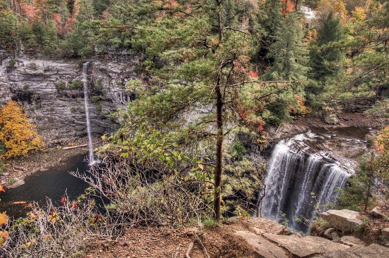 """<h3 style=""""text-align: left;""""><strong>Today's Photo:  Cane Creek and Rock House Falls</strong></h3> The main attraction at Fall Creek Falls state park in Tennessee is, of course, Fall Creek Falls.  However, there are several others that are pretty impressive.  Two of them are Rockhouse falls and Cane Creek falls.  These two happen to drop into the same basin just beside each other.  I wanted to visit both the top and bottom of these two falls, but ended up only having time to stop by the top overlook.  Whatever you do, take care because it is a long way down.  - Daryl Clark  Read more at the <a href=""""http://justshootingmemories.com"""" rel=""""nofollow"""">Daily Photography Blog</a> Just Shooting Memories!..."""