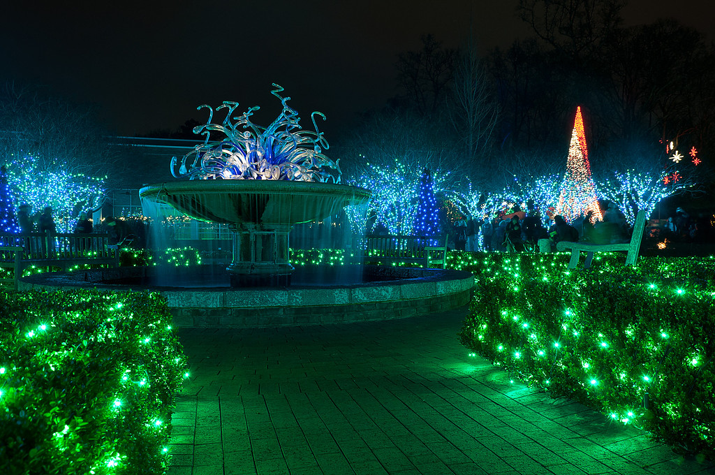 "<h3 style=""text-align: left;""><strong>Today's Photo:  From the Water it Comes</strong></h3> For the beginning of 2013, I bring you the last adventure from 2012.  I spent the evening with my family and friends at the Atlanta Botanical Garden's Garden Lights display.  When I was planning it, I did not know how much fun it was going to be, nor how beautiful the garden would be decorated in Christmas lights.  This shot is of the fountain in the middle of the Levy Parterre.  -Daryl Clark  Read more at the <a href=""http://justshootingmemories.com"" rel=""nofollow"">Daily Photography Blog</a> Just Shooting Memories!..."