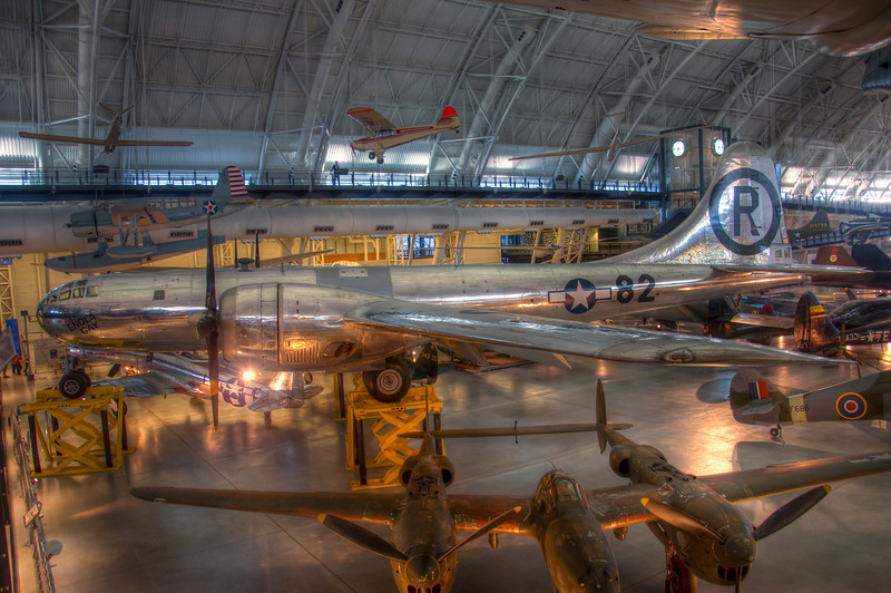 """<h3 style=""""text-align: left;""""><strong>Today's Photo:  82: The Enola Gay</strong></h3> Probably my third favorite plane at the Udvar Hazy building was the Enola Gay.  This is one of the planes that helped end World War 2 in the Pacific Theater.  Unfortunately, this plane carried more destruction in its belly than most other war planes carry in their entire existence.  Knowing what it did just makes being in its shadow that much more awe inspiring.  - Daryl Clark  Read more at the <a href=""""http://justshootingmemories.com"""">Daily Photography Blog</a> Just Shooting Memories!..."""