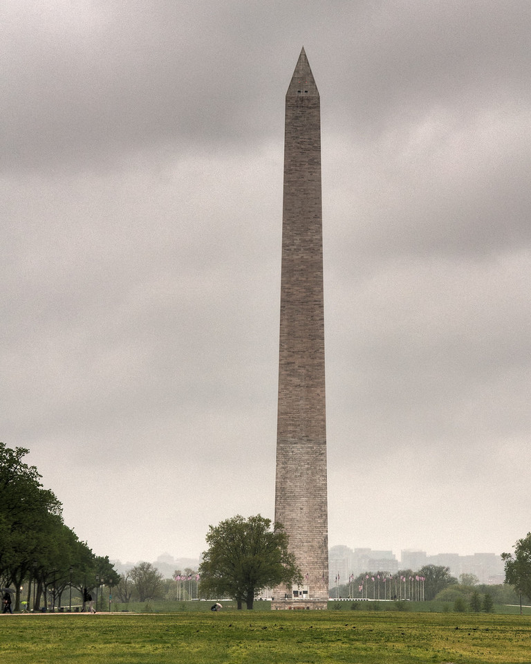 """<h3 style=""""text-align: left;""""><strong>Today's Photo:  The Washington Monument</strong></h3> In 1848, construction began on a monument to the United States of Americas first president, George Washington.  Construction was stopped during the civil war and when it started back, a different color of stone was used.  In 2011 an earthquake in Virginia cause the monument to be closed until a future date.  This shot was in April 2011 and the earthquake was August.  I need to go back and see if it changed enough to notice.  - Daryl Clark  Read more at the <a href=""""http://justshootingmemories.com"""">Daily Photography Blog</a> Just Shooting Memories!..."""