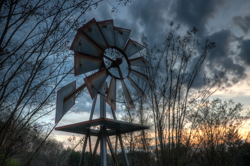 """<h3 style=""""text-align: left;""""><strong>Today's Photo: Like a Pinwheel</strong></h3> Spin the wheel and no one knows where it will land.  That is what the weather has been like this year.  One day it is cold, the next hot.  This weekend was perfect though.  Cool in the morning and just right for the afternoon.  This was the first weekend in a long time like this, so I spent it fishing and having fun.  Sometimes it is good to put the camera down and enjoy life."""