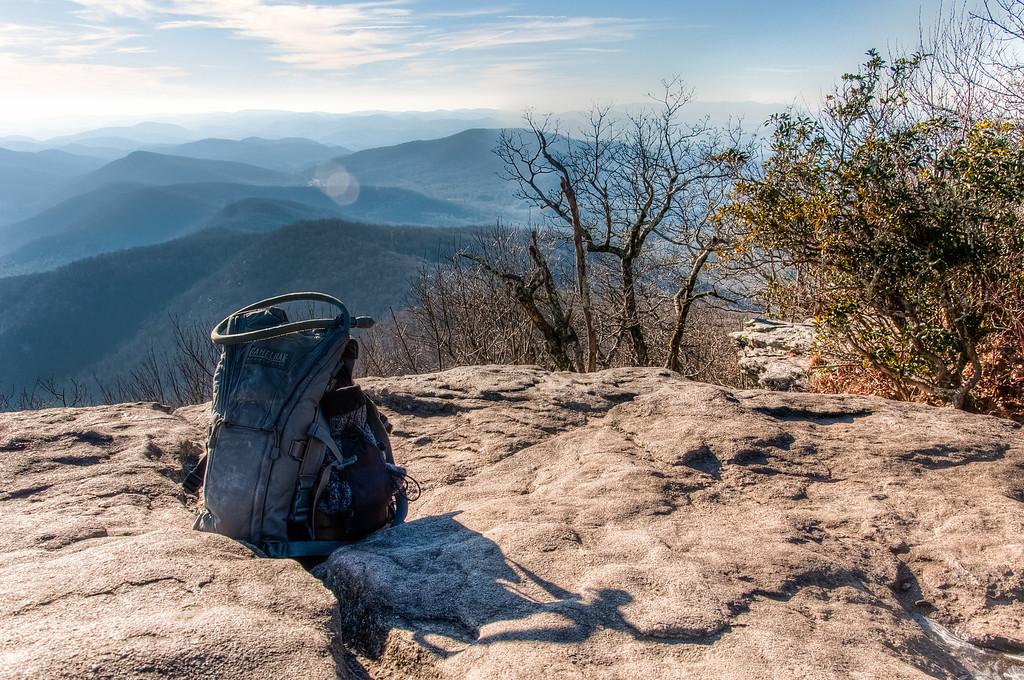 Northwest View, Blood Mountain