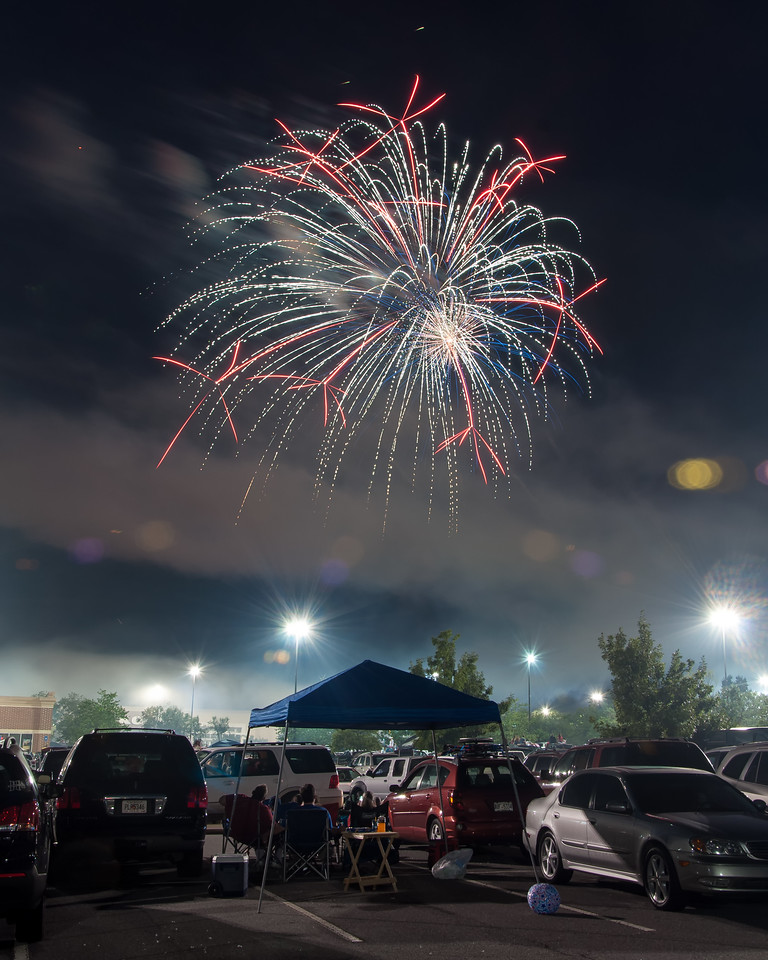 Woodstock Fireworks