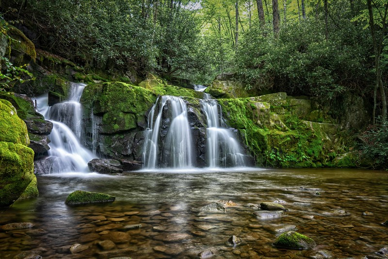 Indian Flats Falls (Great Smoky Mountain National Park)