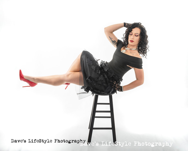 Teryn in studio for a just for fun session