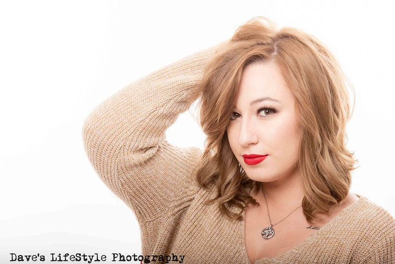 Teryn in Studio at Dave's LifeStyle Photography