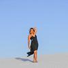 Zandra at White Sands National Monument, New Mexico