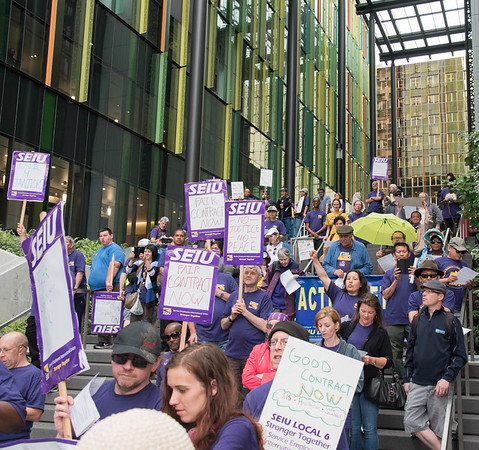 Justice For Janitors  Seattle  July 18, 2016