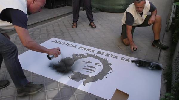 Justicia para Berta Cáceres, justicia para el planeta