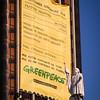 ¡ACCIÓN en directo! Pedimos a los políticos que no se olviden del medio ambiente