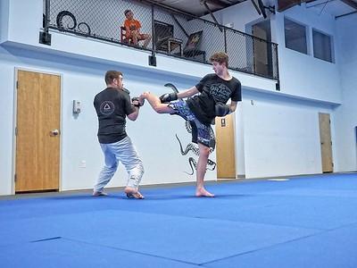 Justin's Black Belt Test