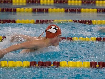 Swimming vs. Chicopee HS