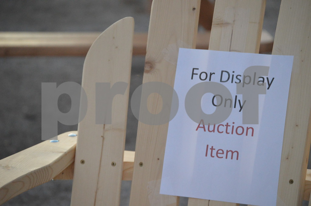 Several items were put on auction in order to raise funds for the ALS Walk to Find a Cure in Des Moines, IA.