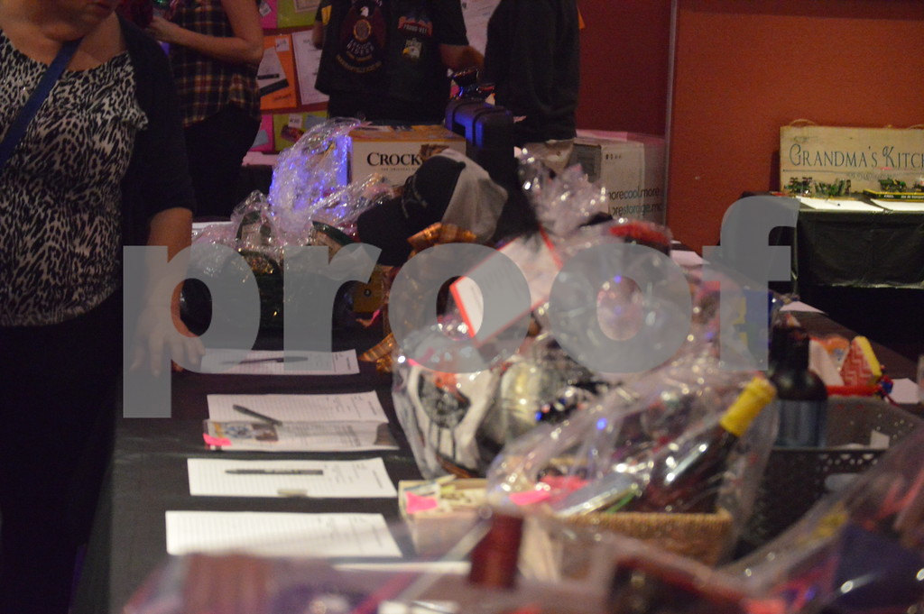 Several items were auctioned off to help raise funds for the ALS Walk to Find a Cure in Des Moines, IA.