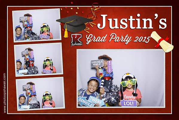 Justin's Graduation Party 2015 (Fusion Photo Booth)