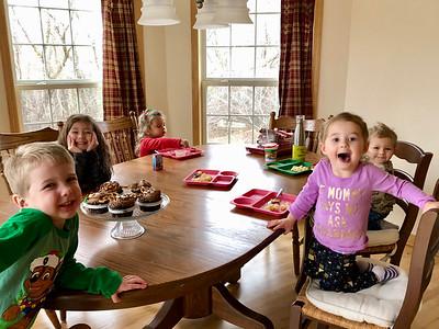 Celebrating Alex's 5th Birthday