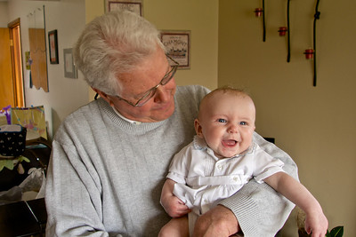 Alexander with his great uncle Jay