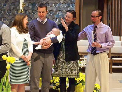 The baptism of Alexander James