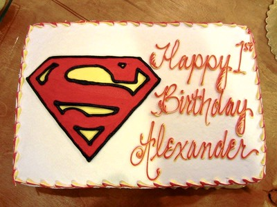 Alexander's 1st Birthday cake
