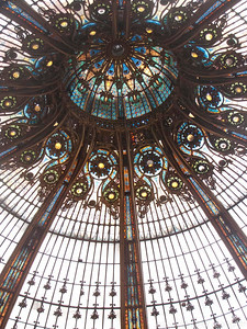 Bon Marche department store.  Paris, France