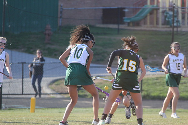 Jv Girls Lacrosse vs. Damascus HS 4-10-2018