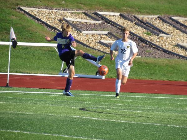 Jv soccer vs Troy on 10-17