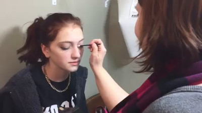 Make-up by Keria (44 sec video)