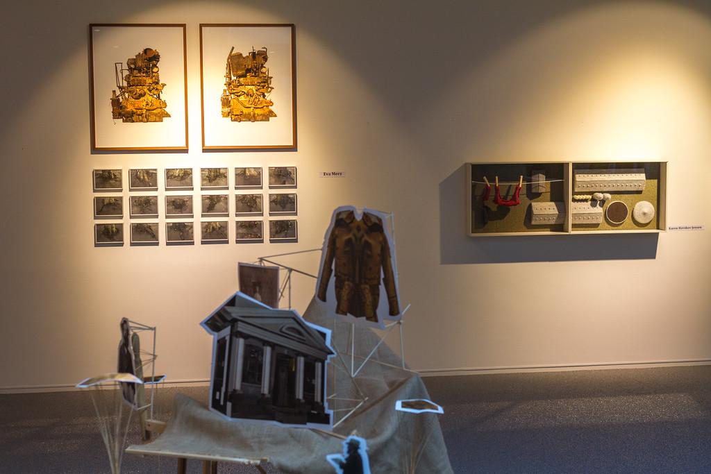 Vestjyllands Kunstpavillon - LOCAL HEROES 15-09 - 28.10.2012<br /> Artists: Marja-Leena Sillanpää & Sophius Ejler Jepsen (Ghosts of Local Spirits), Eva Merz (Roots, Heroes), Karen Havskov Jensen (Mønsterbrug I, II, IV)<br /> <br /> Videbæk Sept 22 2012 @ 14:53