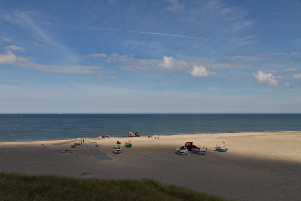 Stenbjerg Strand. Aug 13 @ 10:27