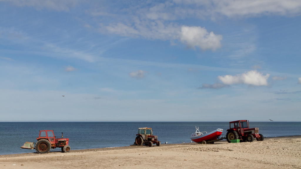 Stenbjerg Strand. Aug 13 @ 10:16
