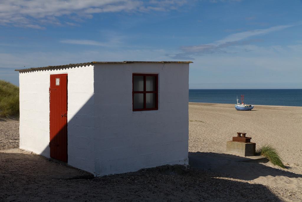 Stenbjerg Strand. Aug 13 @ 10:13
