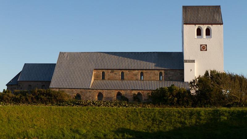 Vestervig kirke. Aug 12 @ 20:21