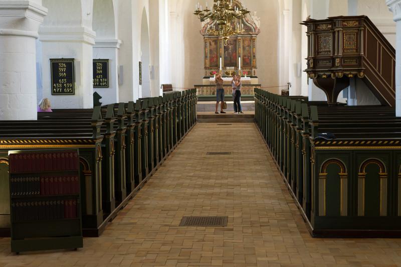 Vestervig kirke. July 31 @ 12:31