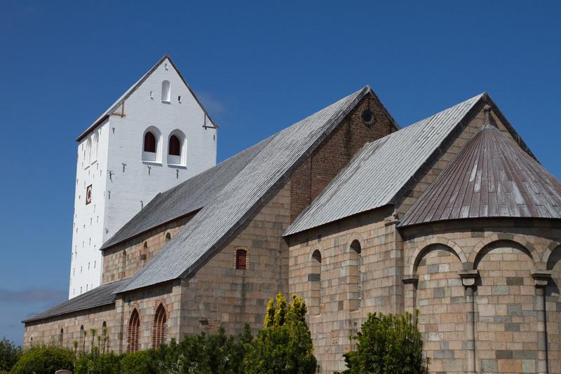 Vestervig kirke. July 31 @ 12:49