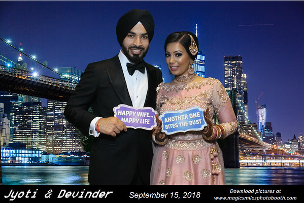Jyoti and Devinder Wedding