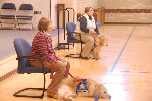 2014-01-26 K-9 visit to Bethel Lutheran Church