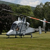 HOLLY PELCZYNSKI - BENNINGTON BANNER The Kaman K-MAX (company designation K-1200) American helicopter lands in the front yard of Kaman Composites in Bennington vt.