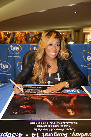K. Michelle - Rebellious Soul Album Signing