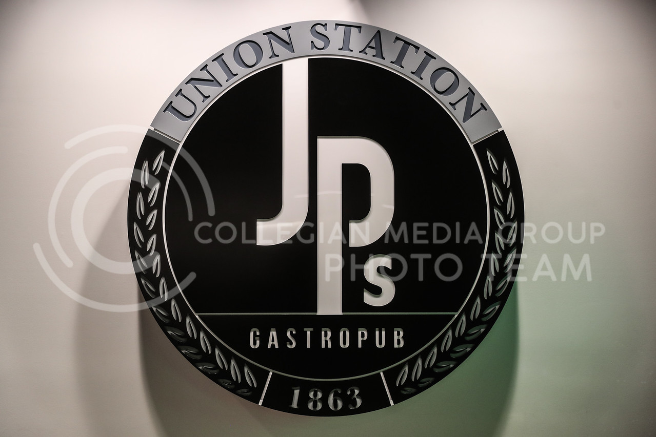 The sign for JP's Gastrobup inside the Student Union.  (Photo by Cooper Kinley | Collegian Media Group)
