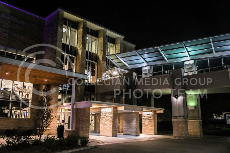 The renovated exterior of the south entrance to the student union.  (Photo by Cooper Kinley | Collegian Media Group)