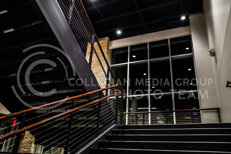 The renovated south stairwell of the Student Union. (Photo by Cooper Kinley | Collegian Media Group)