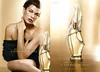 DONNA KARAN Cashmere Mist 2013 US (Macy's) recto-verso with scent strip 'A fragrance to seduce the senses'<br /> MODEL: Milla Jovovich, PHOTO: Mikael Jansson