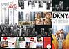 DONNA KARAN DKNY Eau de Toilette 2011 UK (8-page gatefold) Cosmopromotion 'Spirit of NYC - Experience DKNY'
