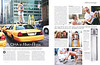 DONNA KARAN DKNY 2011 Russia spread (feature Elle) 'Он, она и Нью-Йорк'